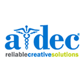 A-dec logo - one of our major supporters helping us fight the chalky teeth problem