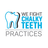 We Fight Chalky Teeth Practices supporter logo