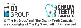 D3 Group & The Chalky Teeth Campaign Copyright
