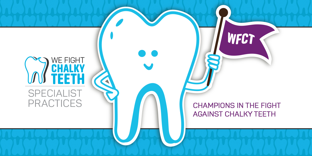 We Fight Chalky Teeth Practices: Champions in the fight against chalky teeth - Main Banner Image