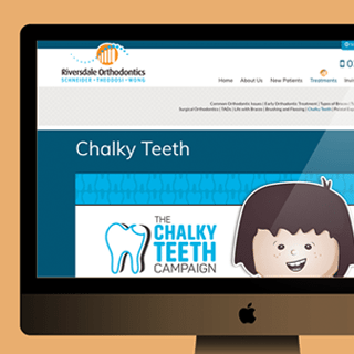Riversdale Orthodontics Chalky Teeth Satellite Page